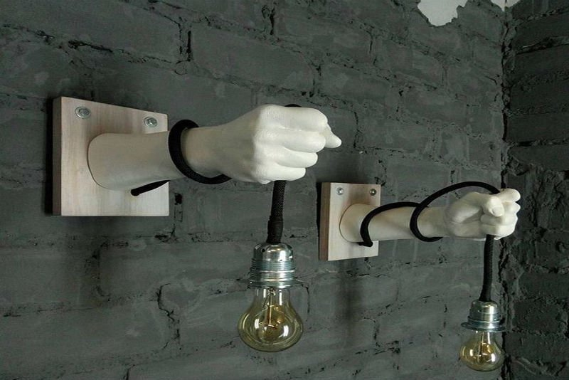 Монтаж светильника