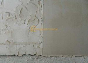 Выравнивание стен под плитку