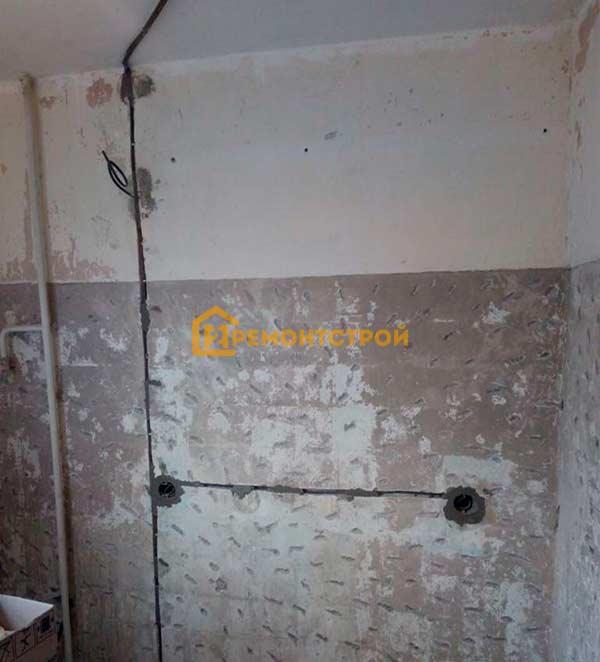 Фото замены старой проводки в квартире