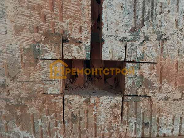 Фото резки под розетки болгаркой