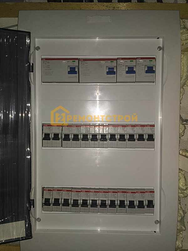 Фото электрического щита Санкт-Петербург