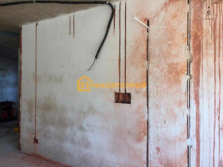 Фото монтаж проводки в частном доме СПБ