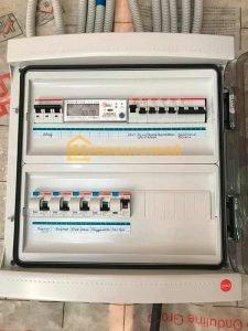 Фото установка электросчетчика в Спб