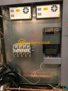 Фото установки счетчика учета электроэнергии в Санкт-Петербурге