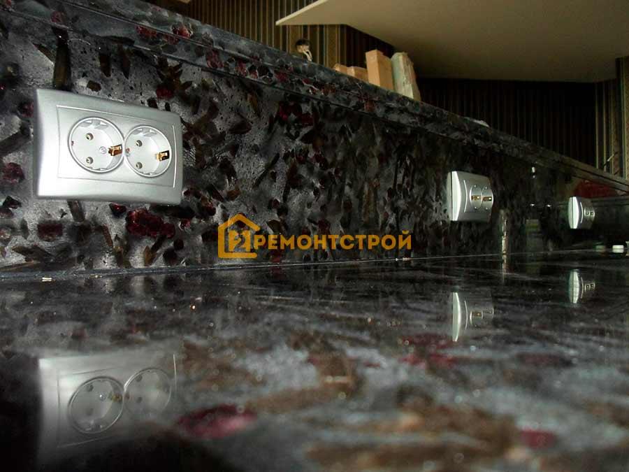 Фото замена электропроводки на кухне Санкт-Петербург