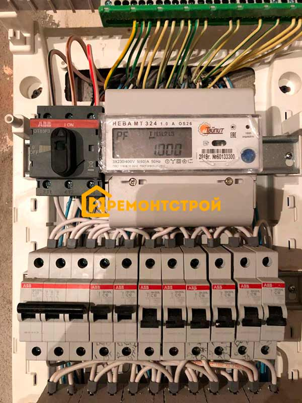 Фото замена электросчетчика